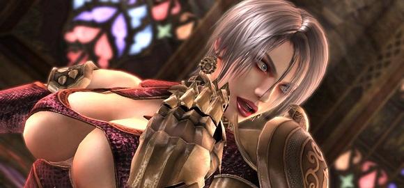Ivy i Soul Calibur V. Redan i SC hade hon stora bröst. Nu är det bara löjligt.