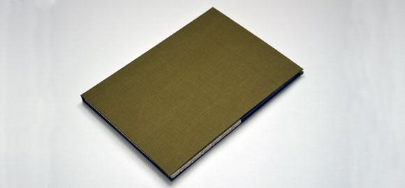The folder closed
